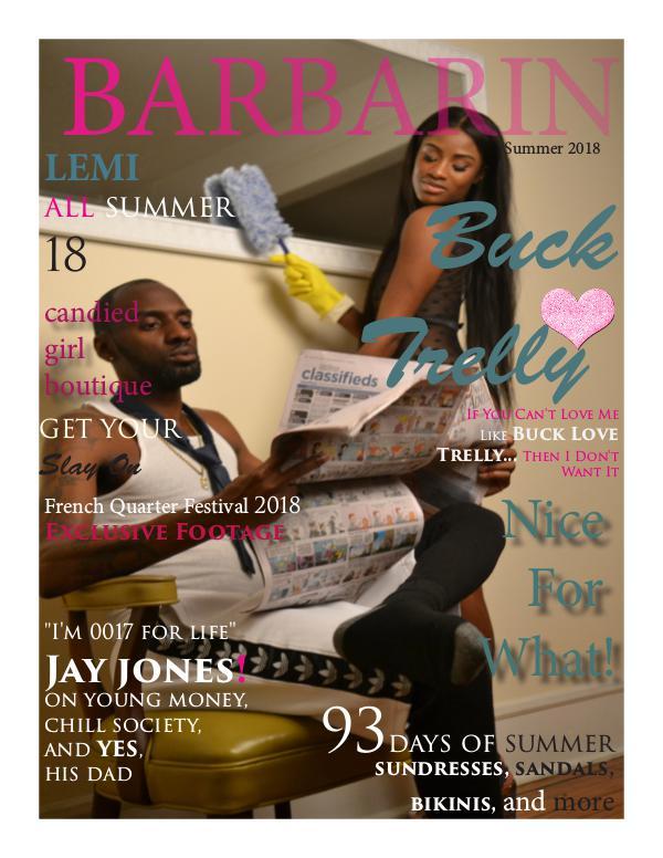 Barbarin Magazine BARBARIN MAGAZINE Vol 8