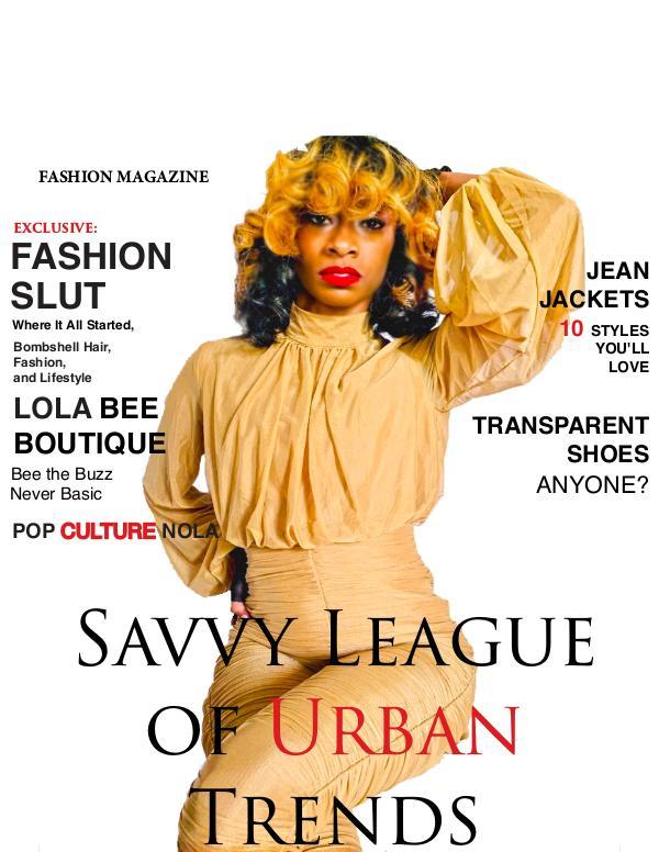 S.L.U.T. MAGAZINE S.L.U.T. Magazine LAYOUT Vol 1