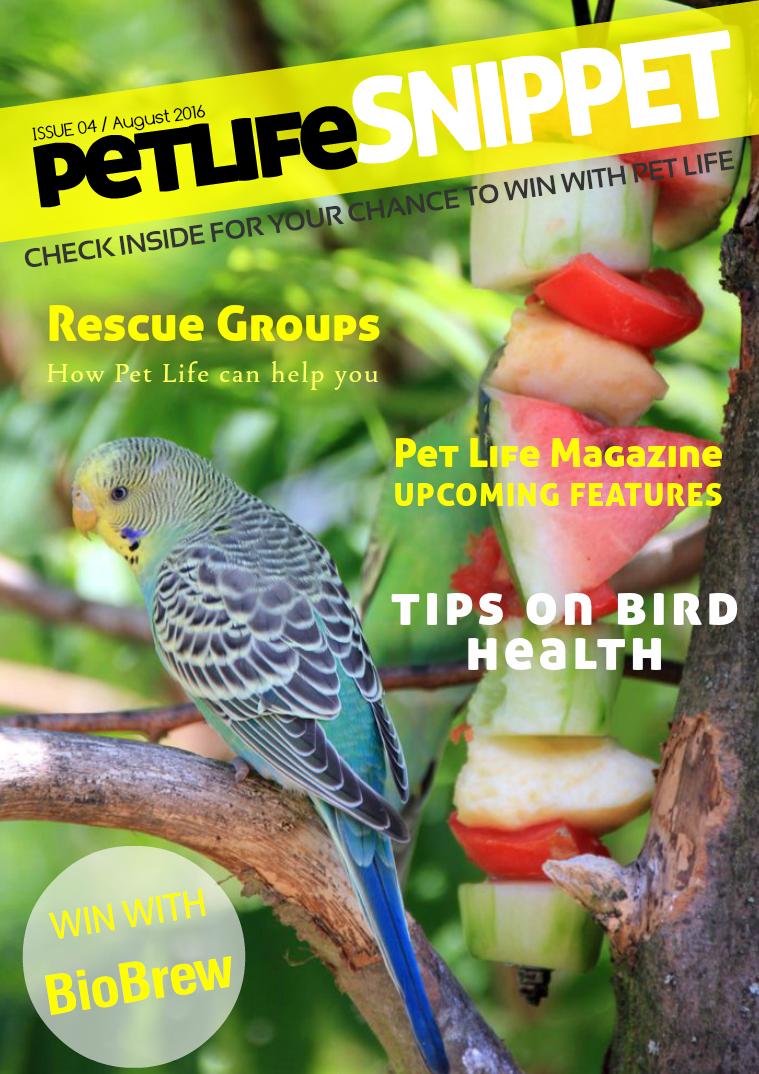 Pet Life SnipPET, New Zealand Issue 4 : August 2016