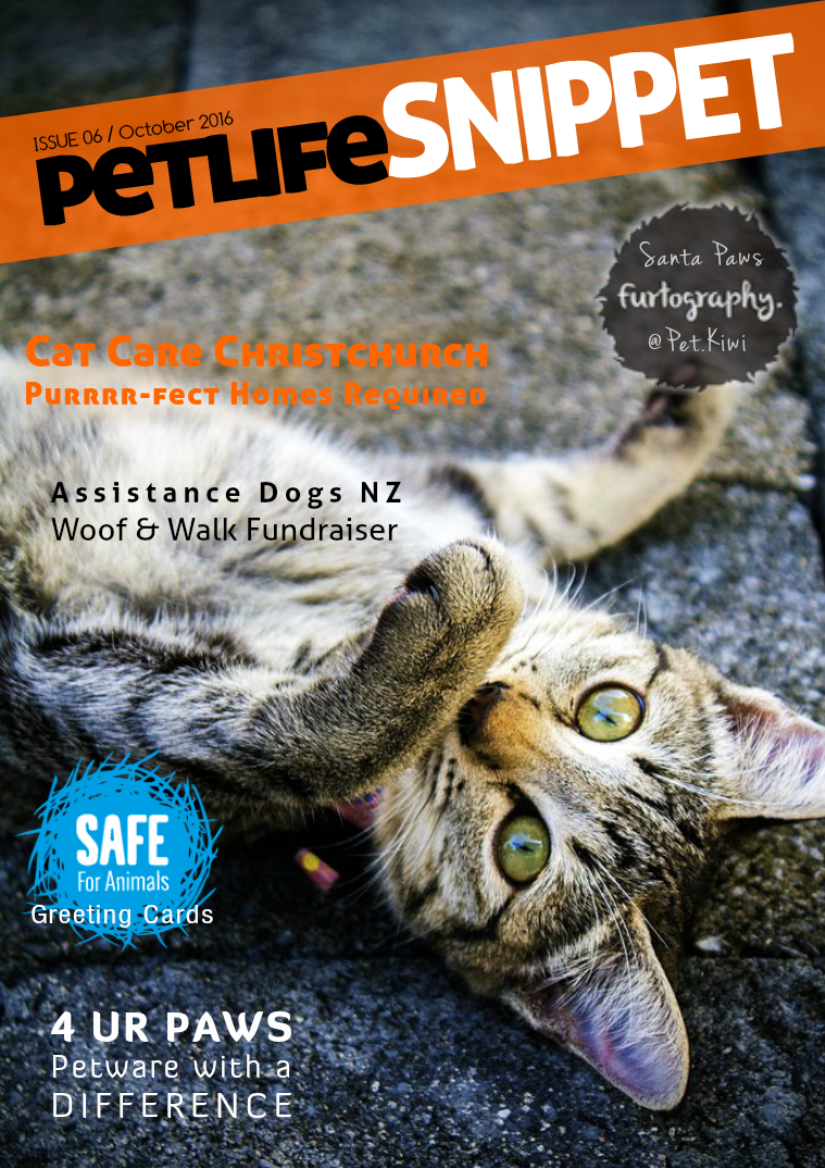 Pet Life SnipPET, New Zealand Issue 6 : October 2016