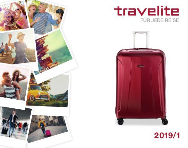 Travelite - Mein Reisegepäck Gesamtkatalog 2019/1