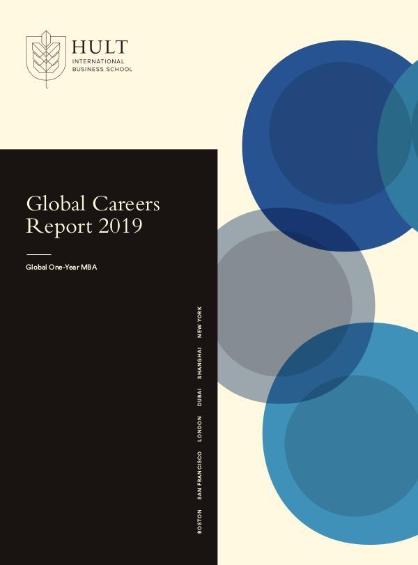2019 MBA Global Careers Report 2019 MBA Global Careers Report