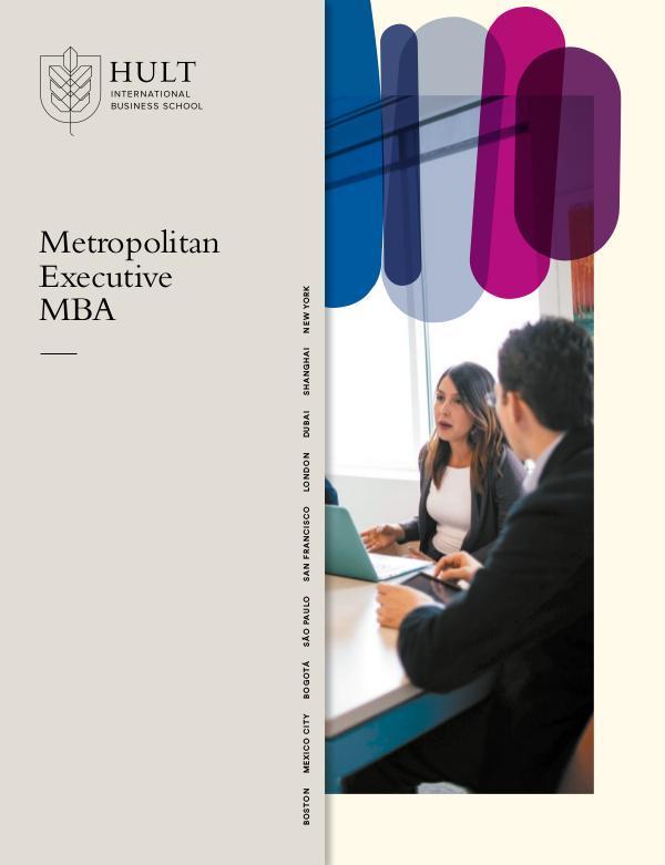 Metropolitan EMBA Brochure 2020/21 Metro-EMBA-Brochure-2019-20-Joomag
