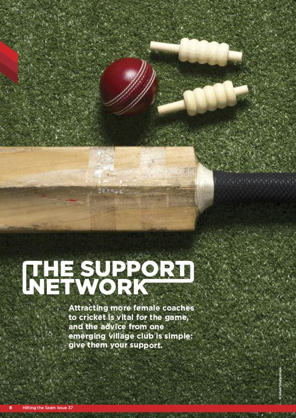 ECB Coaches Association links Hitting the Seam Issue 37 Dinton CC
