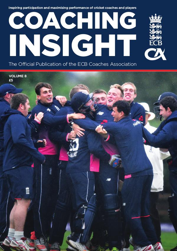 Coaching Insight Volume 8