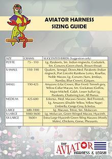 Coats, boots, halters, thunder shirts, Zen Dog, etc sizing guides