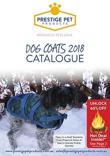 2018 DOG COAT CATALOGUE