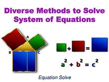 Diverse Methods to Solve System of Equations