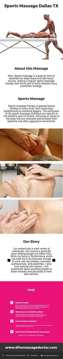Sports Massage Dallas TX
