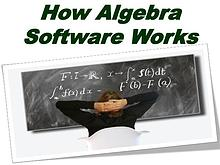 How Algebra Software Works