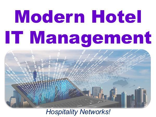 Modern Hotel IT Management 1
