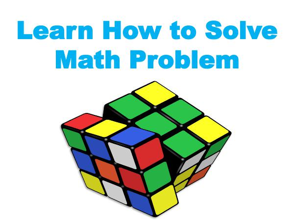 Learn How to Solve Math Problem 1