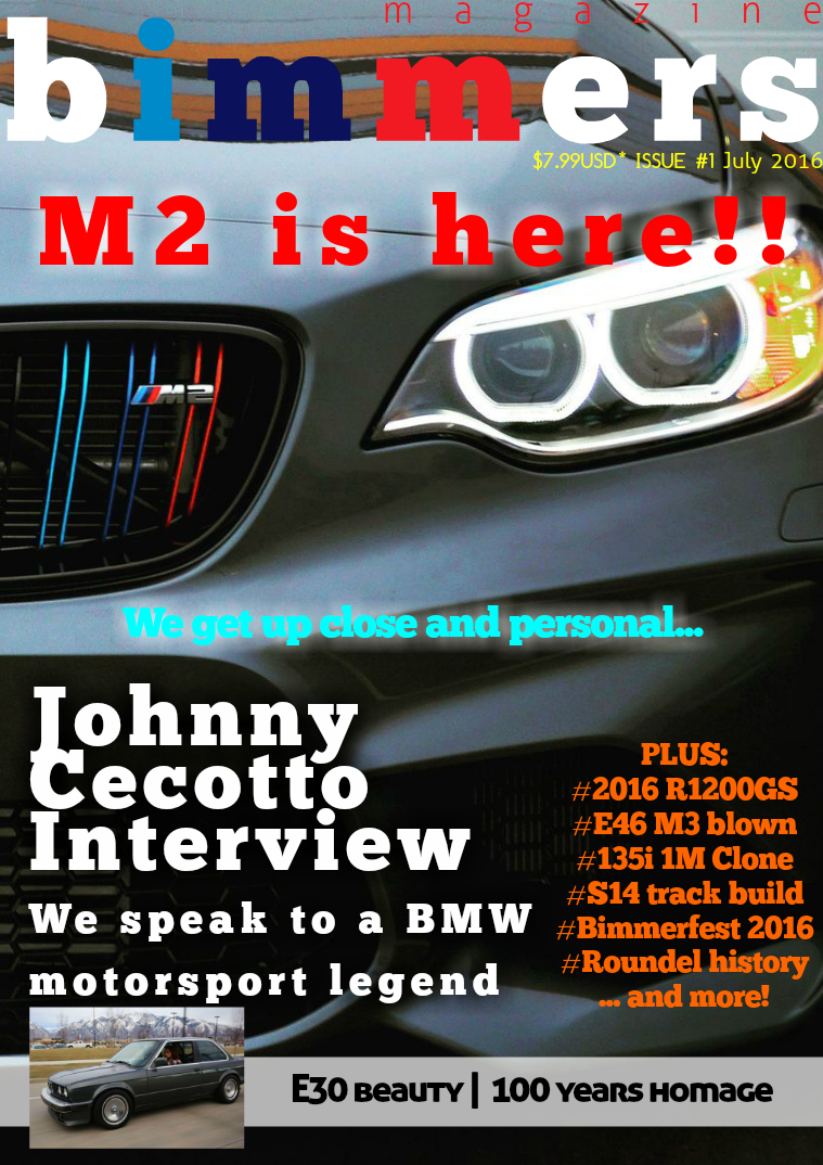 Bimmers Magazine Issue #1 - July 2016
