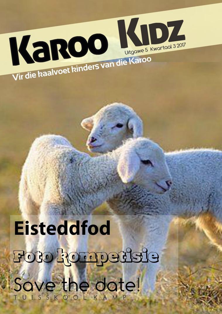Karoo kids Uitgawe 5, Kwartaal 3 2017
