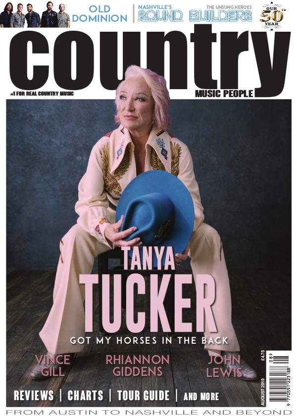 Country Music People August 2019