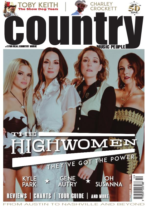 Country Music People October 2019