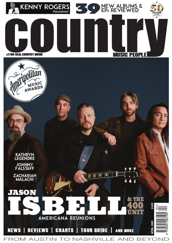 Country Music People April 2020