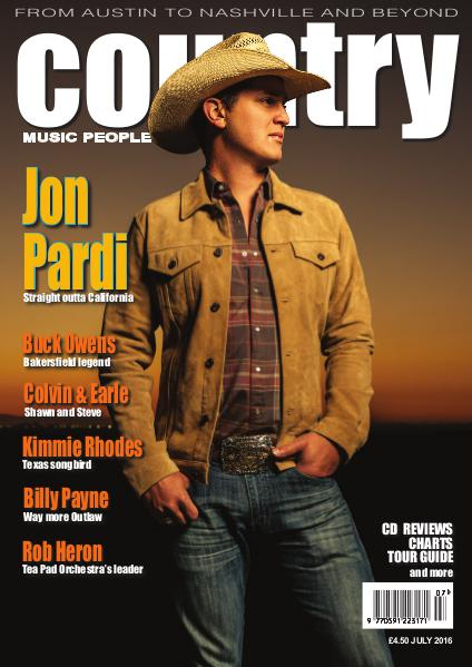 Country Music People July 2016 Joomag Newsstand