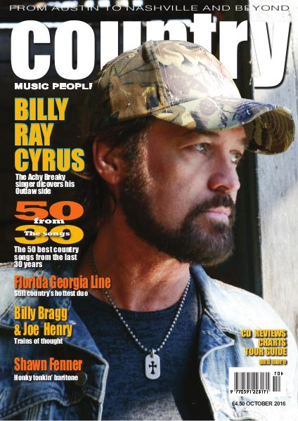 Country Music People October 2016