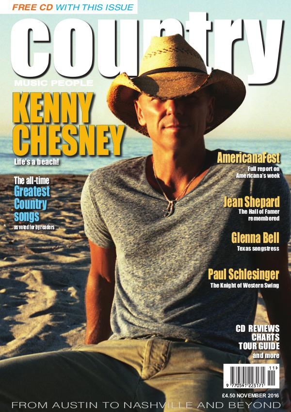 Country Music People November 2016