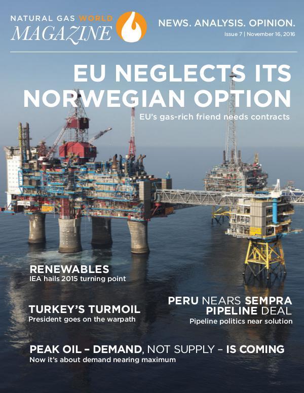 Natural Gas World Magazine November 16 2016