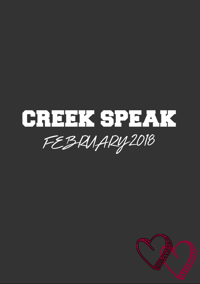Creek Speak February 2018