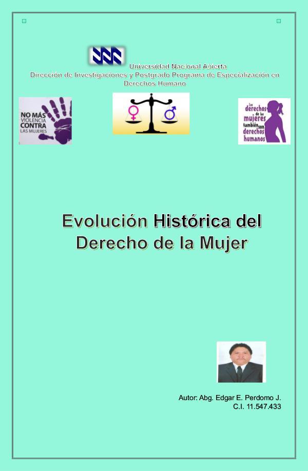Evolución Histórica del Derecho de la Mujer Revista Digital  f