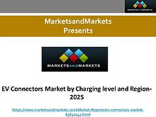 EV Connectors Market by Charging level and Region- 2025