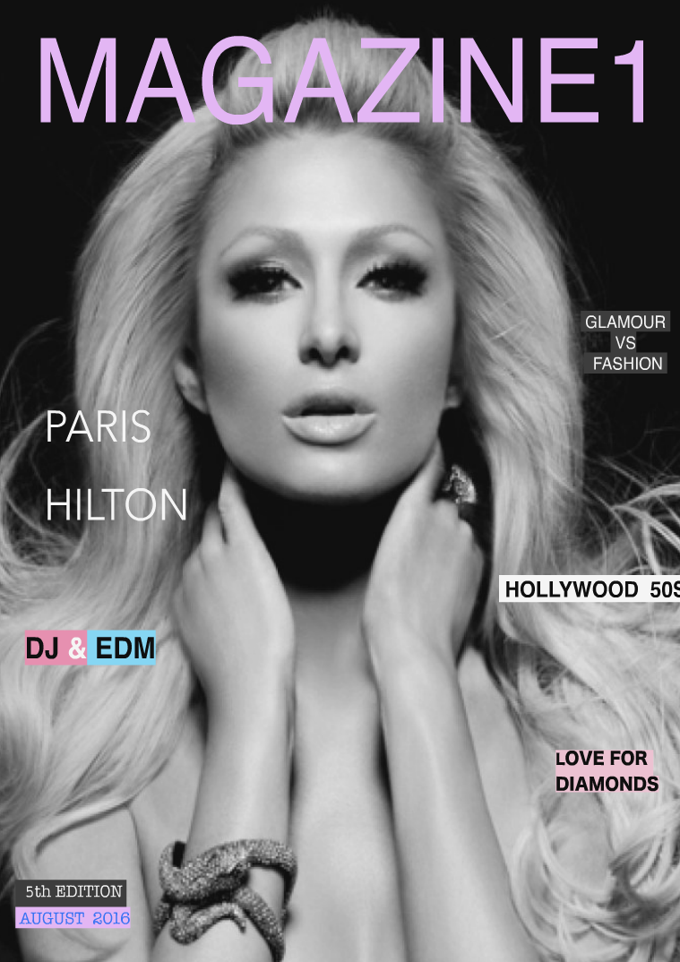 Magazine 1 5th Edition / Paris Hilton