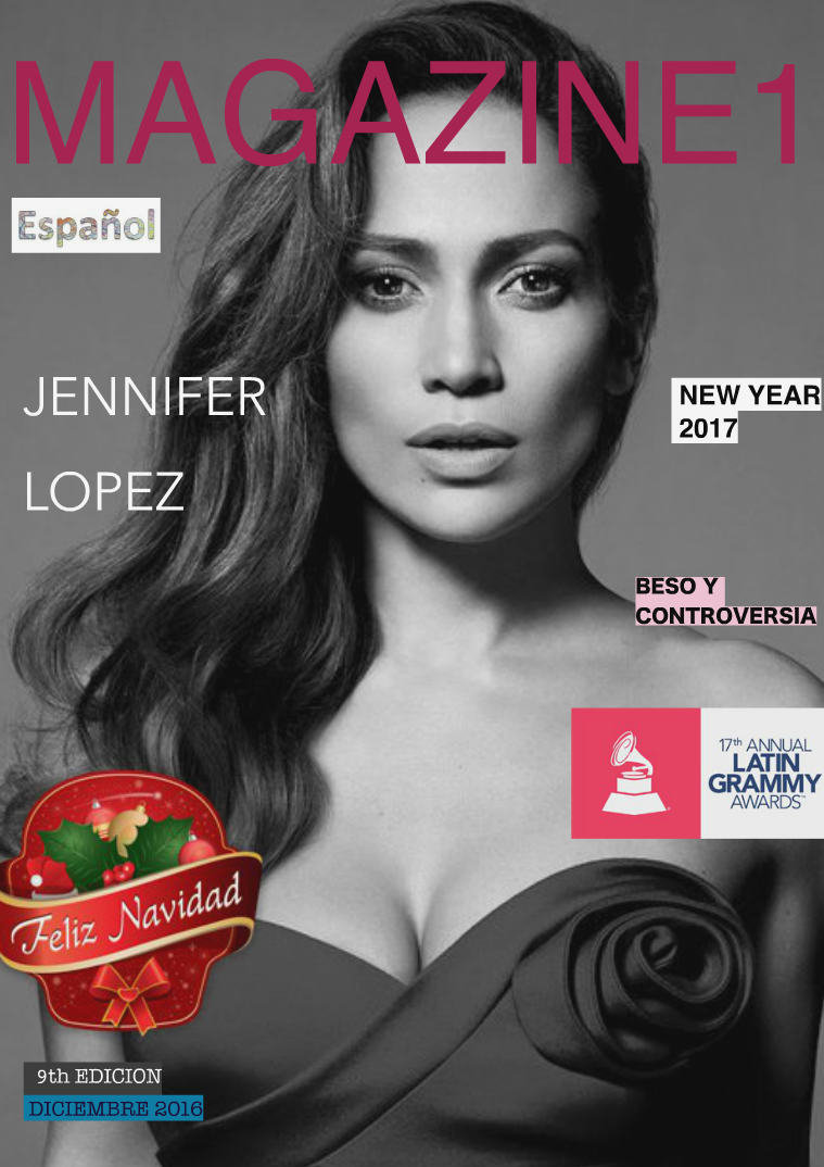 Magazine 1 / 9th Edition  with Jennifer Lopez