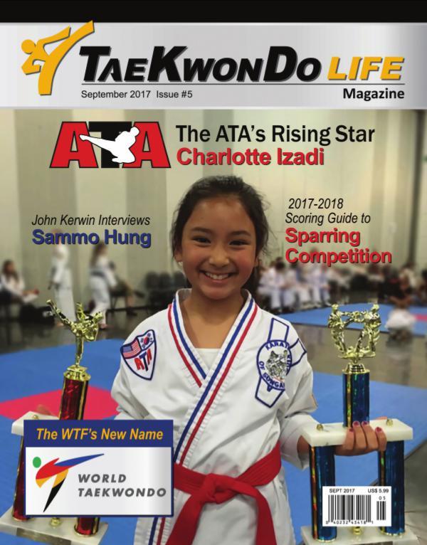 Tae Kwon Do Life Magazine September  2017