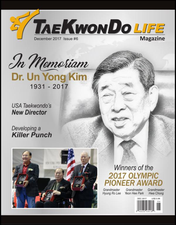 Tae Kwon Do Life Magazine December 2017