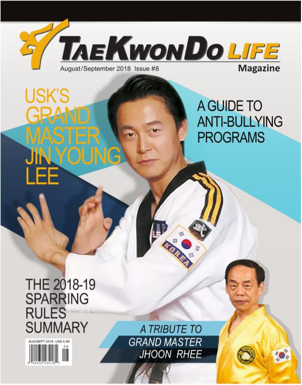 Tae Kwon Do Life Magazine August/September 2018