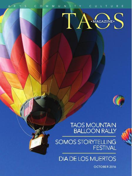 TAOS MAGAZINE | Arts, Community, Culture October 2016 Issue