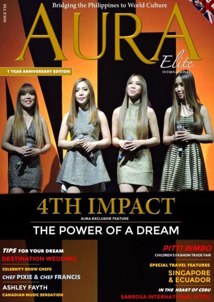 AURA Elite International Magazine Issue VIII- Featuring 4th Impact (Anniv Issue)