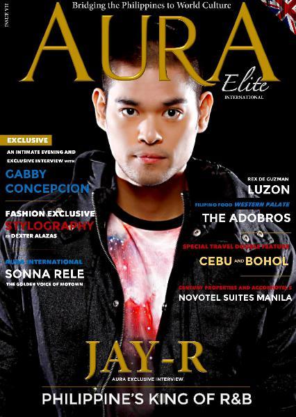 AURA Elite International Magazine Issue VII- Featuring Jay-R