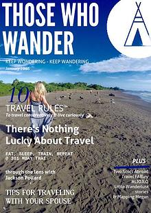 Those Who Wander Magazine