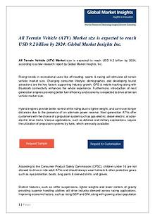 PDF-All Terrain Vehicle (ATV) Market: Global Market Insights, Inc.