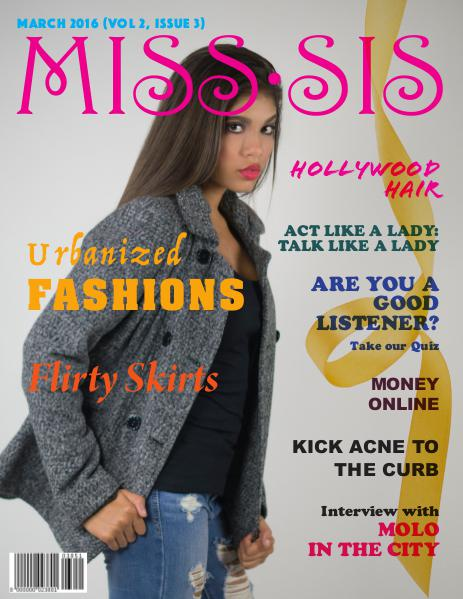 Miss Sis Magazine March 2016 Issue
