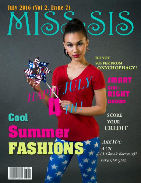 Miss Sis Magazine July 2016 Issue