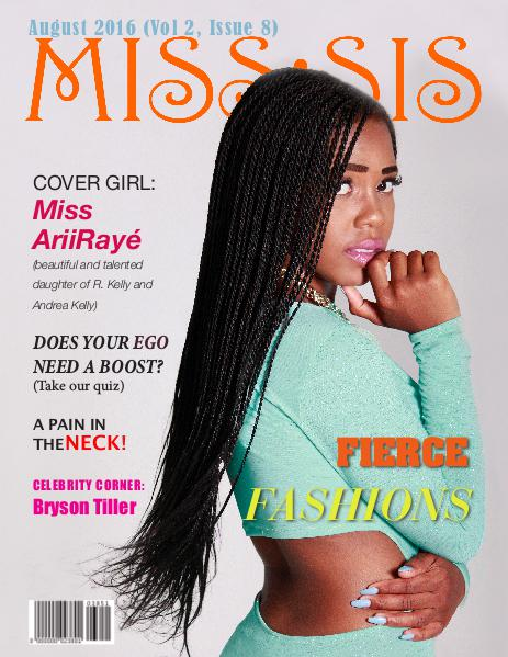 Miss Sis Magazine August 2016 Issue