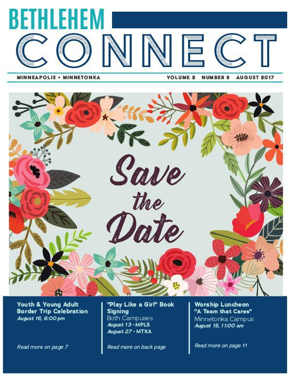 Bethlehem Connect August 2017