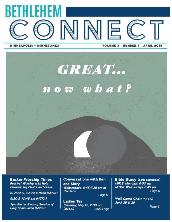 Bethlehem Connect April 2018