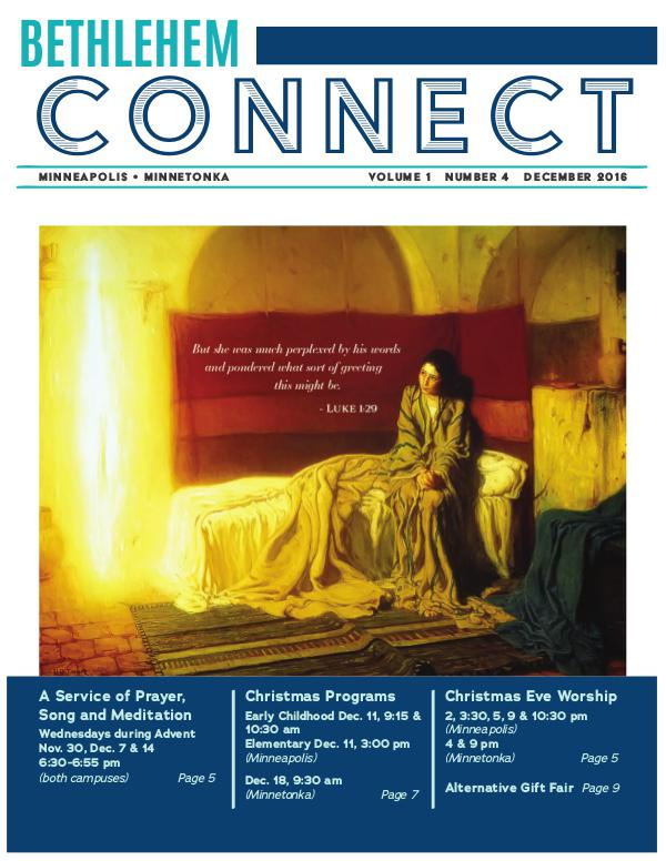 Bethlehem Connect December 2016