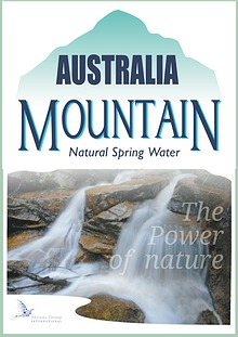 Australia Mountain Spring Water