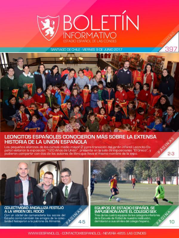 Boletín Informativo Estadio Español 397