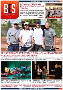 Boletín Informativo Estadio Español