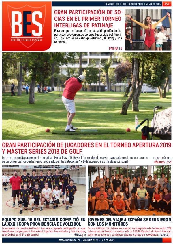 Boletín Informativo Estadio Español N° 456