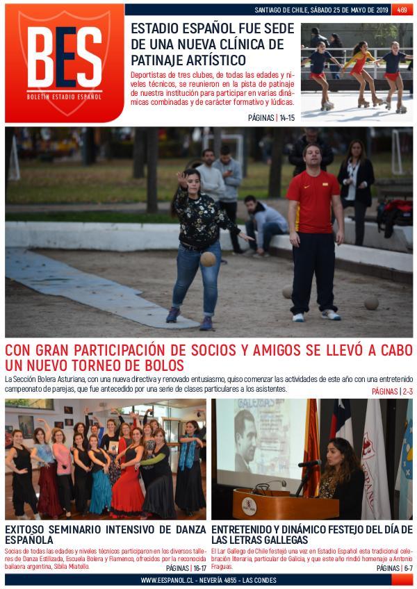 Boletín Informativo Estadio Español N° 469