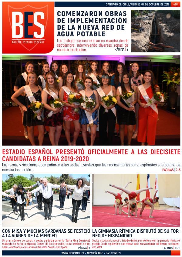 Boletín Informativo Estadio Español N° 486